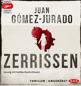 Gomez-Jurado, Zerrissen (2 mp3 CDs)