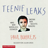 Paul-David Bühre, Teenie-Leaks (3 CDS)