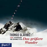 Glavinic, Das größere Wunder (5 CDs)